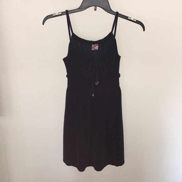 256e3a86588 Juicy Couture Navy Terry Cloth dress. NWT
